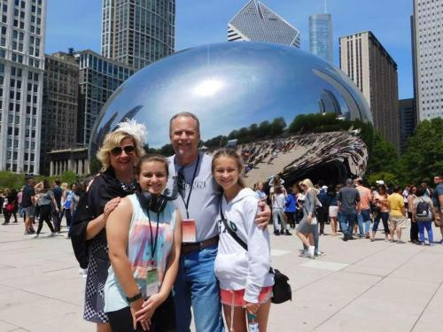 The Chisham Family in Chicago