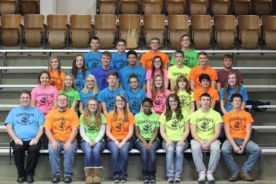 2016-17 HS Scholars Bowl Team