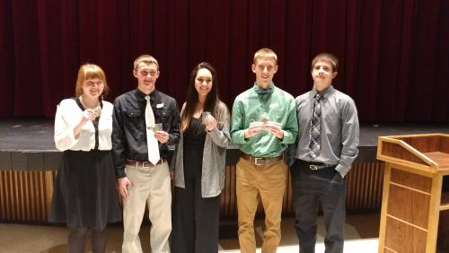 2018 HS Scholars Bowl State Championship Team