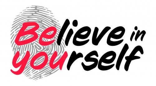 Believe in Yourself Logo
