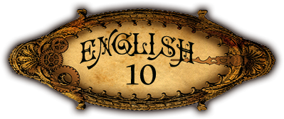 English 10 button