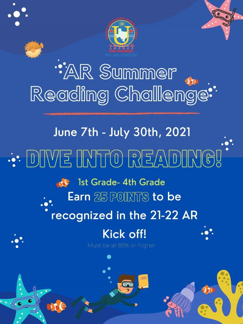 AR Summer Reading Challenge