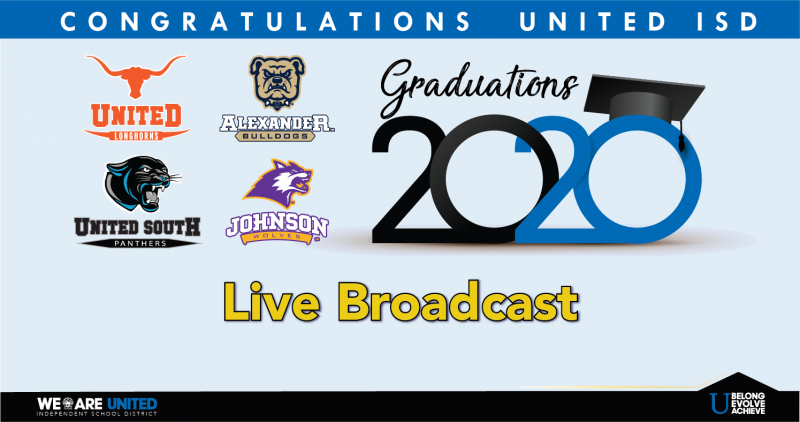 2020 Live YouTube Graduation Ceremonies