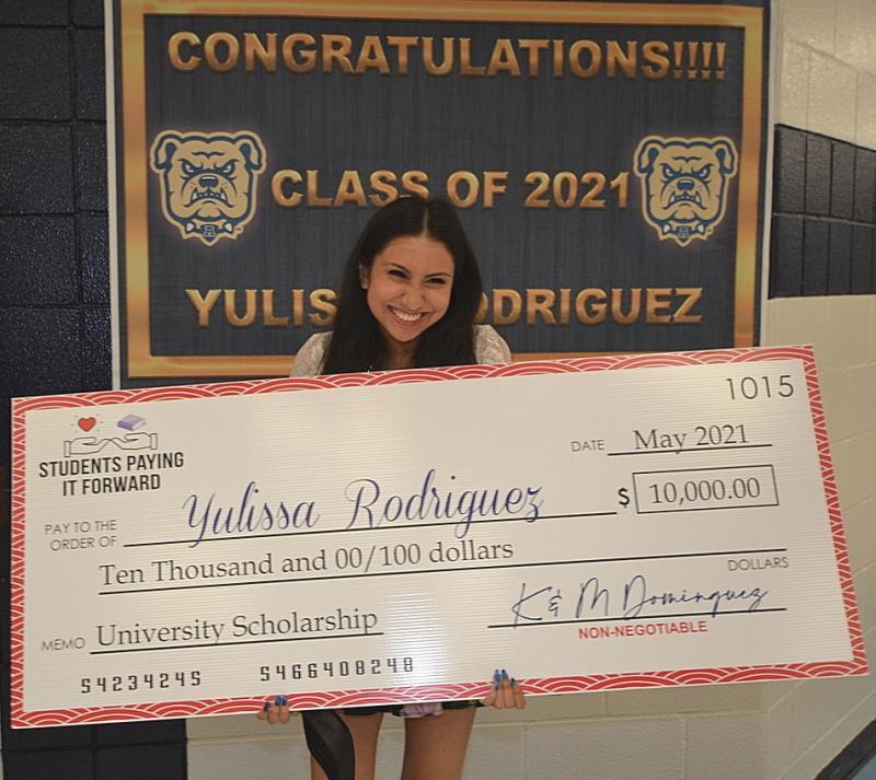 AHS Senior Wins $10.000.00 Scholarship for Top Video Essay !