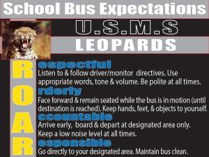 School Bus Expectations