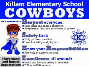 Playground & Recess Expectations