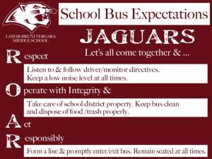 School Bus Expectations
