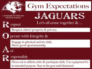 Gym Expectations