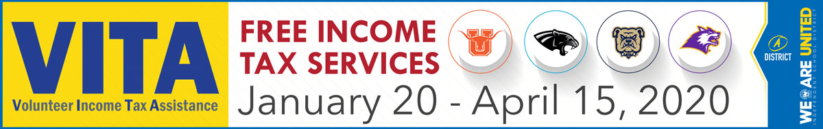 Vita Free Income Tax Services Logo
