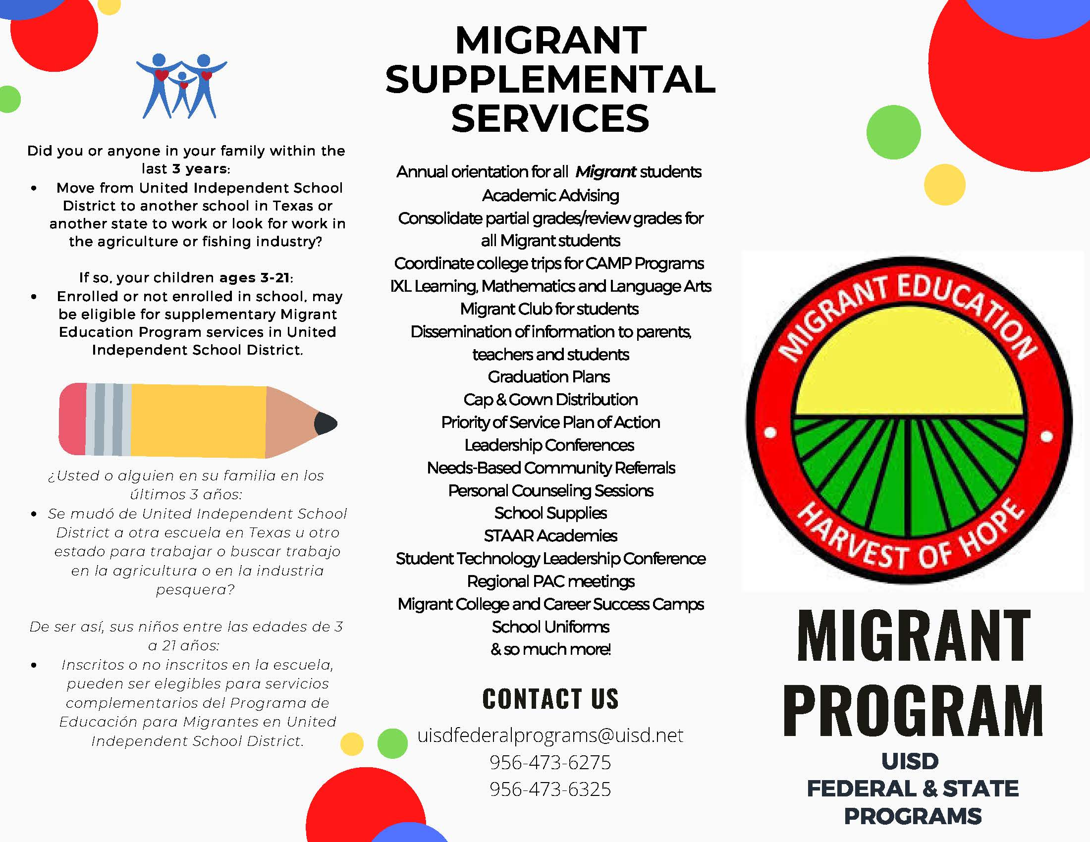 migrant supplemental services