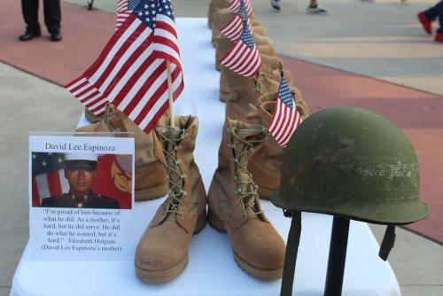 United High School Air Force ROTC Tribute for Laredo's Fallen Hero