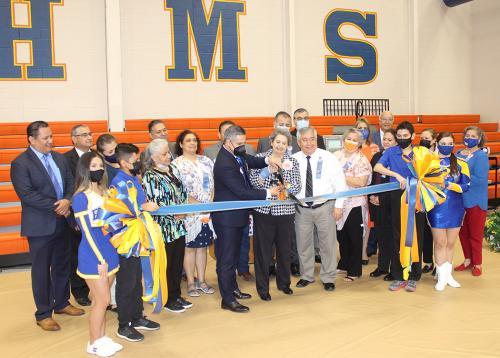 United ISD Ribbon Cutting for Elias Herrera Middle School