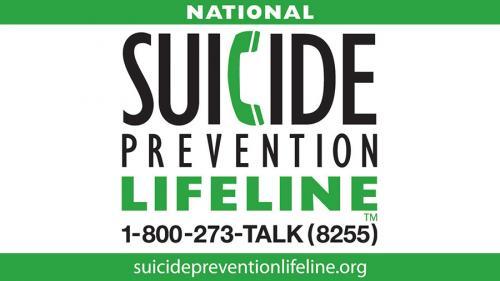 National suicide prevention lifeline image