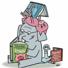 mo willems characters reading books
