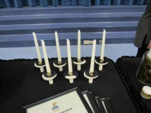 Inductee Candles