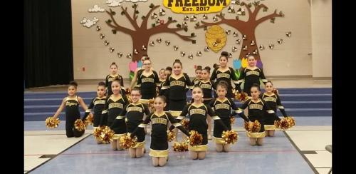 Golden Stingers Dance Team Picture