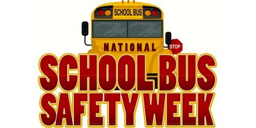 national bus safety week logo