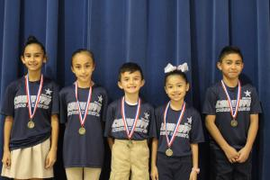 Top Ten Runners: Pamela Ramos, Carolina Sanchez, Juan Homero Sanchez, Bryanna Hernandez, and Raul Martinez