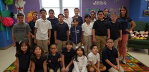 Mrs. Guerra's 4th Grade Class with 410 Points
