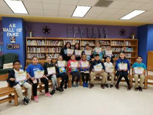 3rd, 4th, & 5th Grade Spelling Bee Participants