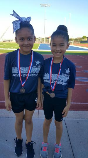 3rd Grade Girls - 9th Place: Clarissa Pacheco, 10th Place: Bryanna Hernandez
