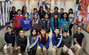Mrs. Martinez's 5th Grade Class with 156.1 Points 10/1/18 to 10/5/18