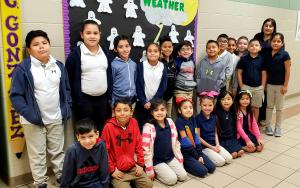 Mrs. Gonzalez's 2nd Grade Class with 95.3 Points 10/8/18 to 10/12/18