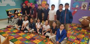 Mrs. Olivas' 2nd Grade Class with 87.3 Points 9/24/18 to 9/28/18