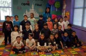 Mrs. Barela's 1st Grade Class