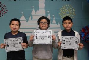 4th & 5th Grade Math Bee Champions
