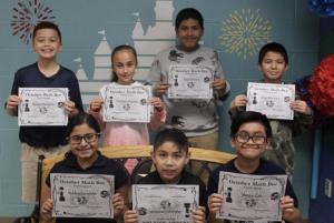 4th & 5th Grade Math Bee Participants