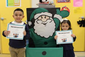 Pre-Kinder AM Math Bee Champions