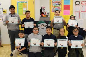 4th & 5th Grade Math Bee Champions and Participants
