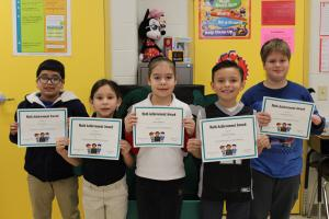 2nd Grade Math Bee Champions and Participants