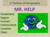 Image that corresponds to 5 Themes of Geography