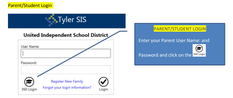 How to Login to Tyler Parent Portal