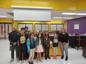 October Students of the Month- 6th Grade