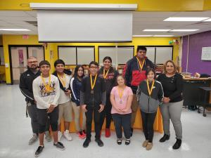 October Students of the Month- 8th Grade