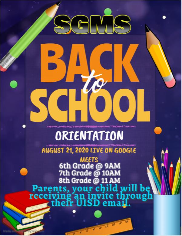 8th Grade Orientation