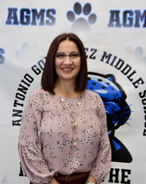 Picture of Mrs. A. Garza, Principal