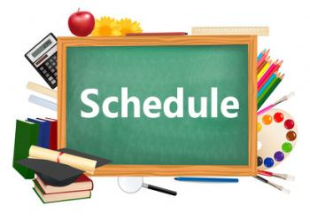 Student schedules to be released on 8/17 @ Parent Portal