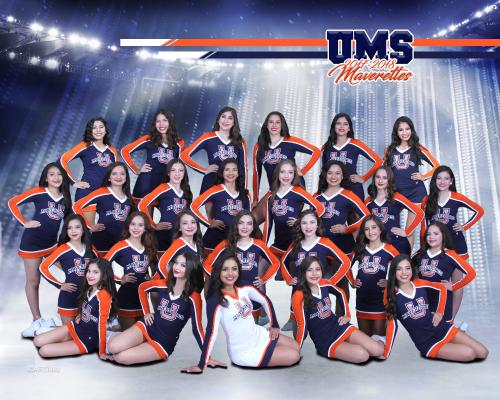 Picture of United Middle Maverettes Dance Team for 2017-2018