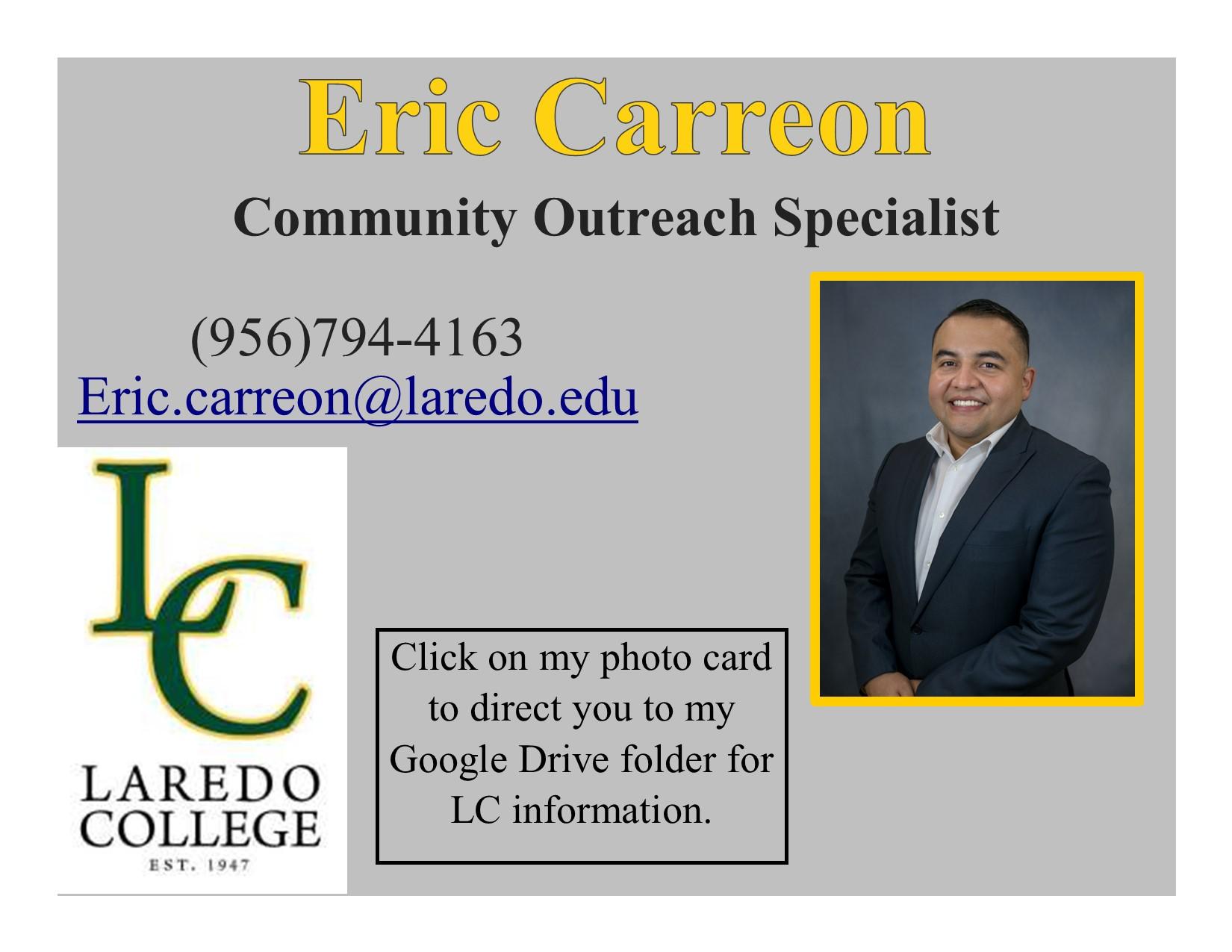 Laredo College-Eric Carreon