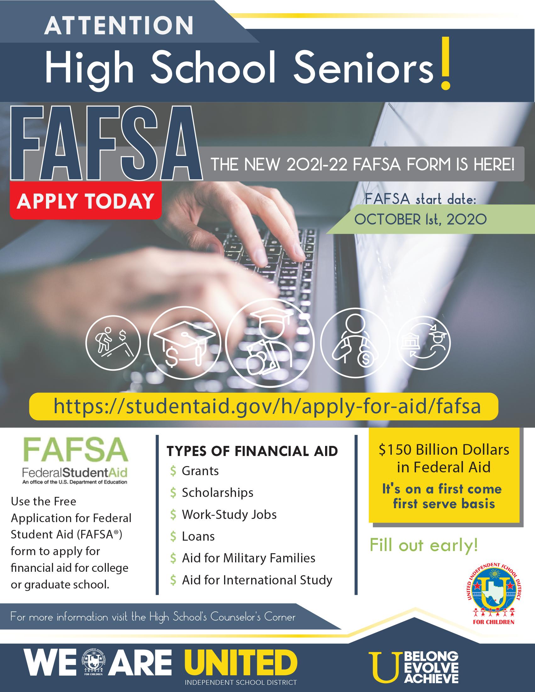 FAFSA Flyer