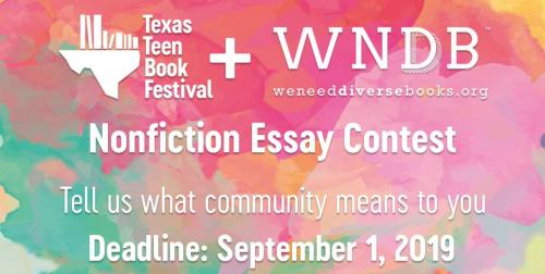 writing contest flyer