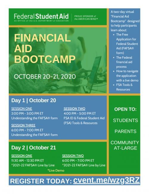 Financial Aid Boot camp