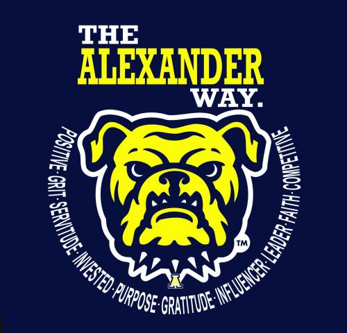 the alexander way logo