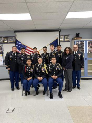 Congrats to Alexander JROTC for achieving a 98% in the JROTC Program of Accreditation Inspection!!