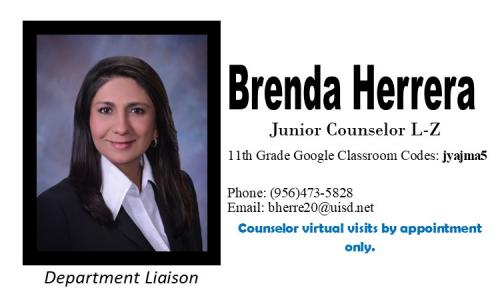 Brenda Herrera Counselor