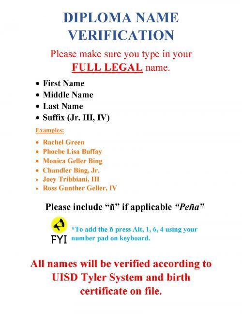 Diploma verification